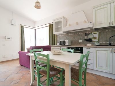 Photo for Rie Earth apartment in Muro Leccese with air conditioning, shared terrace, shared garden & balcony.
