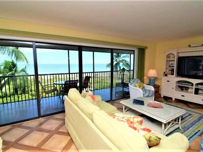Photo for Spacious 3BR/2BA GULF FRONT condo with FREE BIKES for stays NOW through DECEMBER 21, 2019! PLUS $100