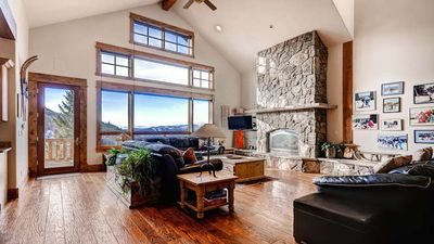 Photo for Luxury 'Lodge'  5BR Mountain Top Home Comfortably Sleeps 15+