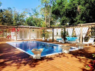 Photo for Orchid Estate #2 MODERN 3 BEDROOM HOME ON 2.3 ACRES WITH POOL