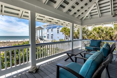 Gulf Side Deck with unobstructed views to the water