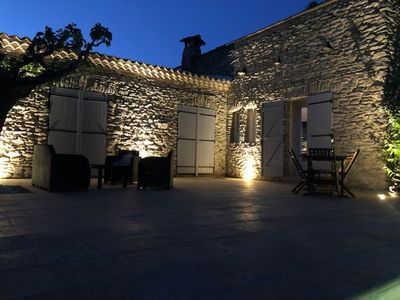 Photo for Pretty peaceful villa 3min drive from Uzes with air conditioning, pool and garden