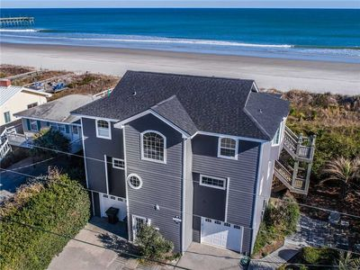 Photo for SERENDIPITY: 4 BR / 3 BA oceanfront in Topsail Beach, Sleeps 8