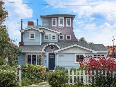 Cutest House In Carlsbad! Roof Top Ocean View - One Block from the Village and Beach