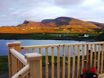 Photo for Traditional Cottage with Sun lounge. Stunning panoramic sea and mountain views
