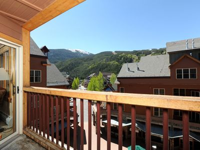 Photo for Deluxe Condo for 6 with Balcony + Fireplace | Pool + Hot Tub Access