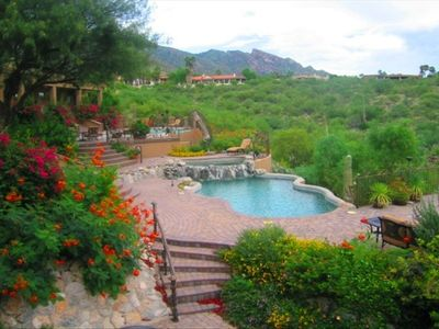 Photo for LUXURY OASIS - STUNNING MOUNTAIN SUNSET CITY VIEWS, 2 MASTER SUITES, HOT TUB