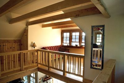 Loft with Birds Eye View of Bay and Bois Bubert Island