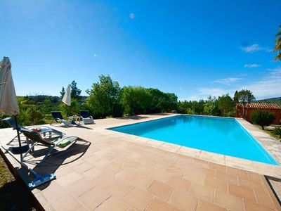 Photo for Air conditioning, 1 bathroom, 1 outdoor pool, 5400 sqm plot, 3 bedrooms, W-LAN