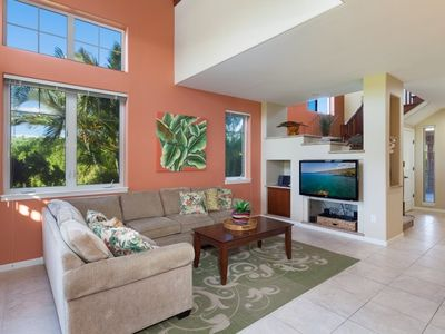Photo for Waikoloa Beach Villas P4.  3 Bedroom Townhome.  BBQ Grill on the lanai.