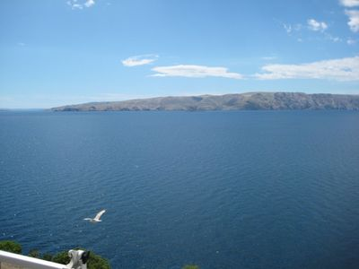 Photo for Holiday apartment with sea view and Adriatic Sea at 100 m
