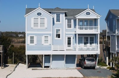 Photo for Beach House on Holden Beach, Ocean/Marsh Views, Beach Access