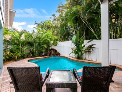 Photo for Attitude By Latitude: Awesome Spacious Home w/ Heated Pool Block to Beach!