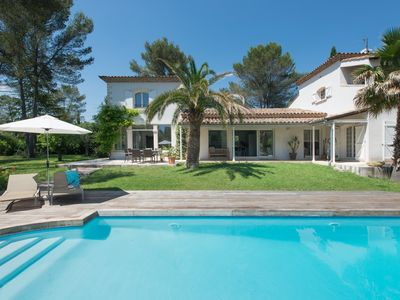Photo for BEAUTIFUL RENOVATED PROVENCAL VILLA WITH LARGE GARDEN AND POOL
