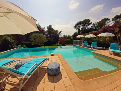 Photo for Lily of the Valley Villa near St Paul de Vence