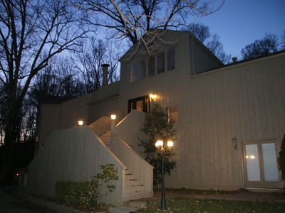Photo for Solitude?  Lovely home, creekside, in the woods but minutes from downtown!