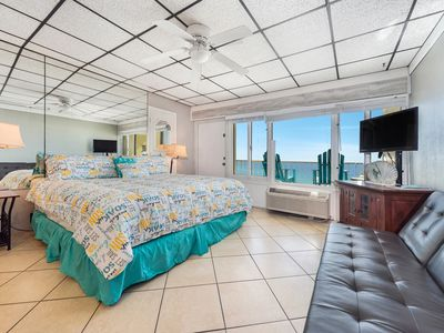 Photo for New Listing! Catch sunny beach vibes @ this studio condo w/ a view! Free WiFi!