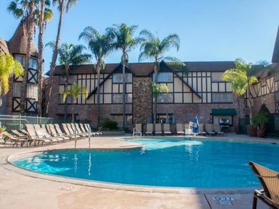 Photo for YOUR ULTIMATE DISNEY GETAWAY STARTS HERE! TWO COMFY UNIT, POOL, SHUTTLE TO PARK