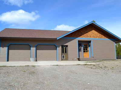 Photo for 6 miles from Glacier National Park! Private quiet home on 5 acres. 2 BDR/ 2.5 BA