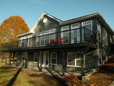 Photo for Custom Built Home On The Scenic Waterfront Facing The Picturesque MarriottsCove