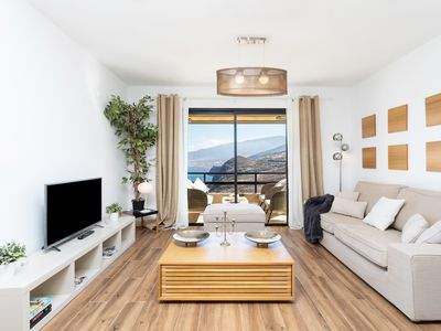 Photo for Beautiful designer apartment with stunning sea views