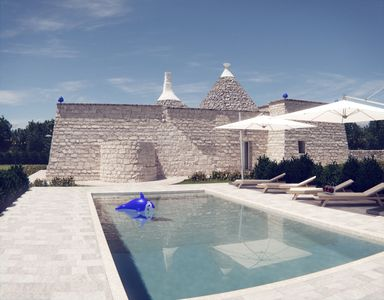 Photo for Trulli della Sierra: a property of TM INVEST .Trulli upscale sea view