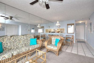 Oak Island Beach Villas 1501-small-002-29-Living Room-666x444-72dpi