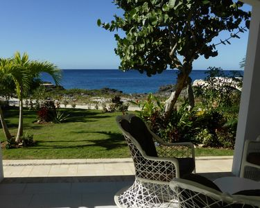 Photo for Front of Caribbean Sea,  beautiful apart. with pools & direct access to sea.