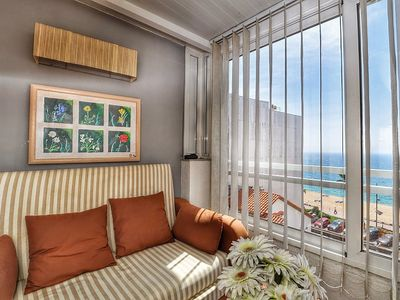Photo for Apartment Orange, 40m from the beach with terrace, air conditioning, wifi