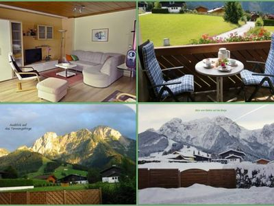 """Photo for Apartment """"Bergblick"""" / 1 bedroom / shower, WC No. 2 - three, apartment"""