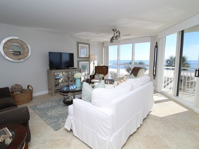 Photo for SeaSpray West 304- Beach Front Views from Terrace with Luxurious Interior!