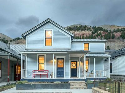 Photo for The Bridal Veil - NEW Sunny Side Rental in Downtown Telluride- Charm, History and More!