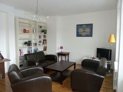 Photo for New, apartment rental Saint Malo intramural, bright 4 people