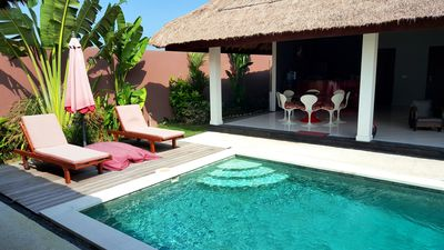 Photo for $120! 4BR VILLA & POOL | SUNDECK | WIFI | STAFF | 10mins BEACH | SMART TV