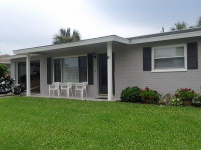 Photo for SPECIAL rates: May thru Aug Updated 3BR home w/garage,fenced yard,walk to beach.