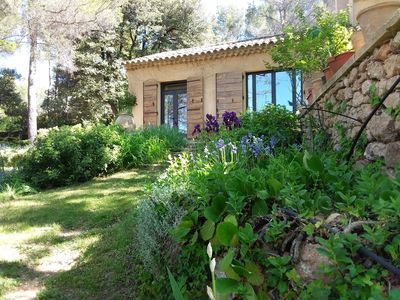Photo for Aix-en-Provence charming renovated Provencal house in a beautiful garden