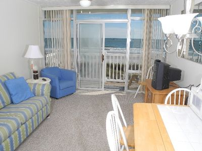Photo for Grand Strand Resorts II Unit 19! Oceanfront 1 Bedroom! Book now for best rates!