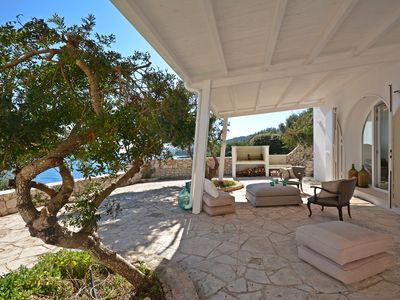 Photo for Villa Conchiglia - direct access to the sea