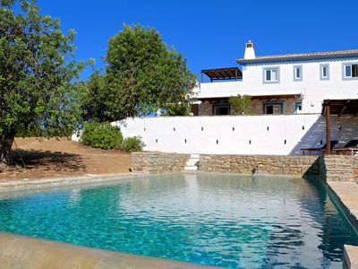Photo for Luxurious Rural Farmhouse with an Infinity Pool , stunning views and location