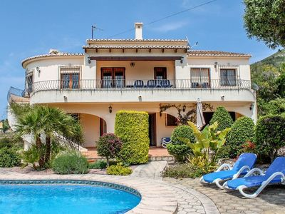 Photo for Nessa - well furnished villa with panoramic views in Benitachell