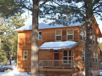 "Photo for ""Majestic Pines"" Angel Fire Cabin 4 Bedroom  3 Bath"