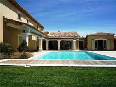 Photo for Provence Country House on secured Golf of Pont Royal. 8 bedrooms Exceptional