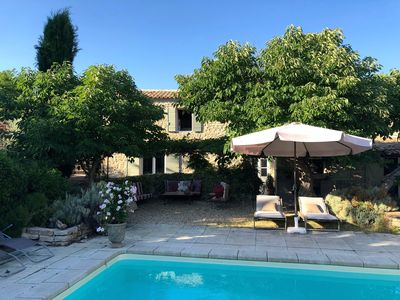 Photo for Charming house swimming pool terrace 8 pers Provence