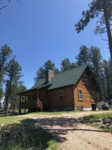 Photo for 3/2 Log Cabin  For BUFFALO ROUND UP