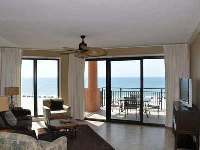 Photo for Truly Spectacular Gulf Front Views-Beautifully Decorated