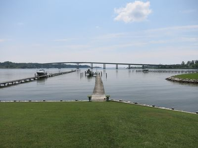 The beautiful Severn River from the dock.