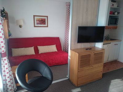 Photo for Studio 4 to 5 beds, comfortable, 50m from the slopes Résidence ALTAIR