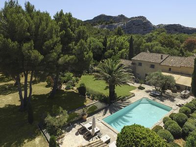 Photo for 7 Bed 18th C. Mas Perfect Location in Les Alpilles