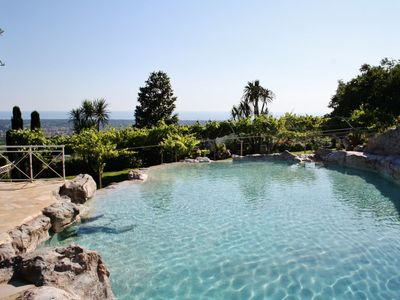 Photo for Holiday Apartment with extraordinary seaview, shared Pool, WIFI, near Forte dei Marmi, a dream place