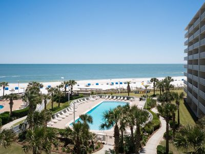 Photo for Gorgeous View of Pool & Beach from 5th Floor